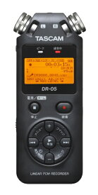 TASCAM ハイレゾ対応リニアPCMレコーダー DR-05 VER3 DR-05VER3[DR05VER3]