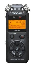 TASCAM DR-05VER3 リニアPCMレコーダー [ハイレゾ対応][録音機 ボイスレコーダー 小型 高音質 長時間]