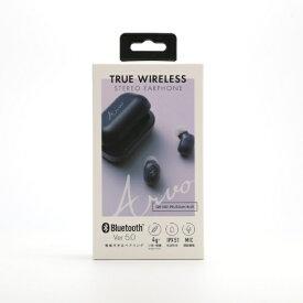 クオリティトラストジャパン QUALITY TRUST JAPAN フルワイヤレスイヤホン QB-082BL ブルー [マイク対応 /ワイヤレス(左右分離) /Bluetooth][QB082BL]