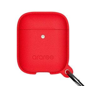 ROA ロア AirPods Case POPS <Wireless Charging Case専用> レッド araree