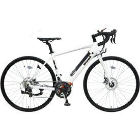 EVOL 700×28C 電動アシスト自転車 evolD700(パールホワイト/9段変速)EAD700【組立商品につき返品不可】 【代金引換配送不可】
