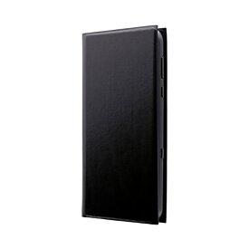 MSソリューションズ AQUOS R3 薄型手帳型ケース PRIME ブラック LP-19SQ1LPBK ブラック