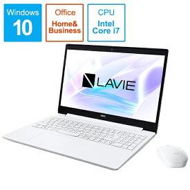 NEC エヌイーシー 【ビックカメラグループオリジナル】PC-NS700NAW-2 ノートパソコン LAVIE Note Standard(NS700/NAシリーズ) カームホワイト [15.6型 /intel Core i7 /SSD:512GB /メモリ:8GB /2019年夏モデル][15.6インチ office付き 新品 windows10 PCNS700NAW2]