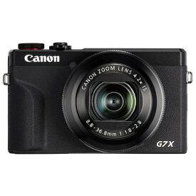 キヤノン CANON コンパクトデジタルカメラ PowerShot(パワーショット) G7 X Mark III ブラック[PSG7XMK3BK コンデジ デジカメ カメラ]