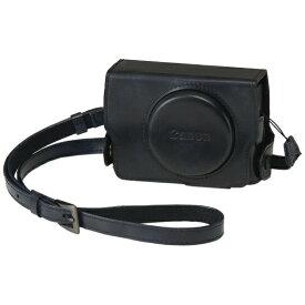 キヤノン CANON ソフトケース(PowerShot G7 X Mark III 専用) CSC-G12(BK) ブラック