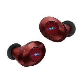ラディウス radius フルワイヤレスイヤホン HP-T50BTR レッド [リモコン・マイク対応 /ワイヤレス(左右分離) /Bluetooth][HPT50BT]