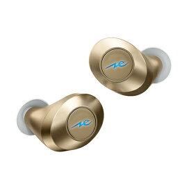 ラディウス radius フルワイヤレスイヤホン HP-T50BTN ゴールド [リモコン・マイク対応 /ワイヤレス(左右分離) /Bluetooth][HPT50BT]