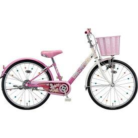 ブリヂストン BRIDGESTONE 22型 子供用自転車 エコパル(ピンク/シングルシフト)EPL20【2019年モデル】【組立商品につき返品不可】 【代金引換配送不可】