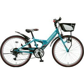 ブリヂストン BRIDGESTONE 20型 子供用自転車 エクスプレス ジュニア(エメラルドグリーン/6段変速)EXJ06【ダイナモランプモデル】【2019年モデル】【組立商品につき返品不可】 【代金引換配送不可】