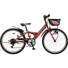 ブリヂストン BRIDGESTONE 24型 子供用自転車 エクスプレス ジュニア(レッド/6段変速)EXJ46【ダイナモランプモデル】【2019年モデル】【組立商品につき返品不可】 【代金引換配送不可】
