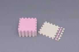 アイリスオーヤマ IRIS OHYAMA ジョイントマット JTMR-318 (ピンク/ベージュ /30×30cm)