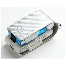 ナチュラルデザイン NATURAL design 電子たばこIQOS用ケース 「FLAMINGO」 IQFL05-Carbon SV