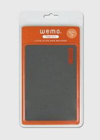 コスモテック Cosmotec wemo ウェアラブルメモ パッドタイプL ダークグレー WEMO-PDGL