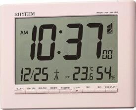 リズム時計 RHYTHM 目覚まし時計 【フィットウェーブD203】 8RZ203SR13 [デジタル /電波自動受信機能有]