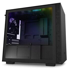 NZXT エヌゼットエックスティー 高いコストパフォーマンスとスマートな外観のインテリジェントPCケース 【Mini-ITX】 CA-H210I-B1 ブラック/ブラック