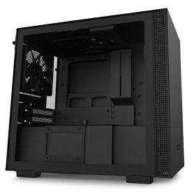 NZXT エヌゼットエックスティー 高いコストパフォーマンスとスマートな外観のPCケース 【Mini-ITX】 CA-H210B-B1 ブラック/ブラック