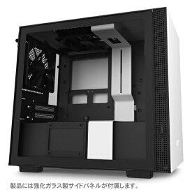 NZXT エヌゼットエックスティー 高いコストパフォーマンスとスマートな外観のPCケース 【Mini-ITX】 CA-H210B-W1 ホワイト/ホワイト