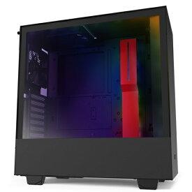 NZXT エヌゼットエックスティー インテリジェントPCケース 【ATXMicroATXMini-ITX】 CA-H510I-BR ブラック/レッド