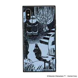 HAMEE ハミィ [iPhone XS/X専用]ムーミン TILEケース 151-910306 ムーミン/月明りの部屋