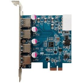 玄人志向 インターフェースボード USB3.0 Type-Ax4(Renesus μPD720201搭載、PCI-Express x1接続) USB3.0RA-P4-PCIE