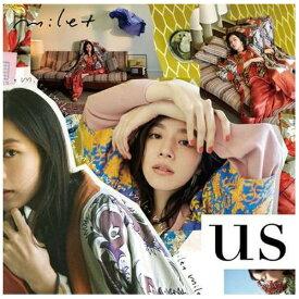 【2019年08月21日発売】 ソニーミュージックマーケティング milet/ us 通常盤【CD】