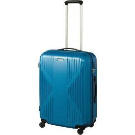 ORBITER(エース) スーツケース 60L ワールドトラベラー(World Traveler) クリアウォーター(CLEARWATER) ブルー ACE-4063BL [TSAロック搭載]