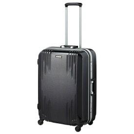 ORBITER(エース) スーツケース 68L ワールドトラベラー(World Traveler) カタノイ(KATANOI) ブラック ACE-4071BK [TSAロック搭載]