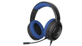 CORSAIR コルセア PC/PS4/Nitendo Switch/Xbox One対応 ゲーミングヘッドセット HS35 Stereo Blue (CA-9011196-AP) CA-9011196-AP[CA9011196AP]