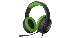 CORSAIR コルセア PC/PS4/Nitendo Switch/Xbox One対応 ゲーミングヘッドセット HS35 Stereo Green (CA-9011197-AP) CA-9011197-AP[CA9011197AP]