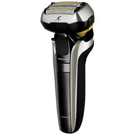パナソニック Panasonic リニアシェーバーラムダッシュ5枚刃 ES-CLV9EX-S シルバー調 [5枚刃 /国内・海外対応][電気シェーバー 男性 髭剃り ESCLV9EXS]
