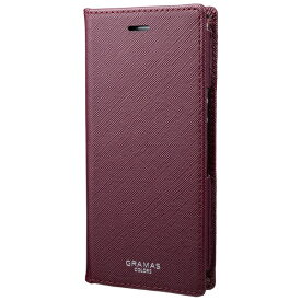 坂本ラヂヲ EURO Passione PU Leather Book Case for Xperia Ace CLC-64819WNE ワイン