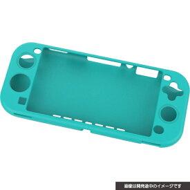 サイバーガジェット CYBER Gadget SWITCH Lite用 シリコンカバーフラットタイプ ターコイズ CY-NSLSC-TQ【Switch Lite】