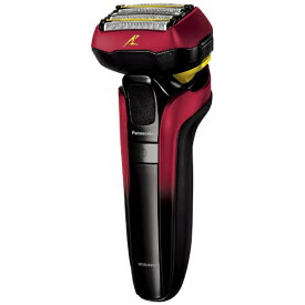 パナソニック Panasonic リニアシェーバーラムダッシュ5枚刃 ES-CLV5E-R 赤 [5枚刃 /国内・海外対応][電気シェーバー 男性 髭剃り ESCLV5ER]