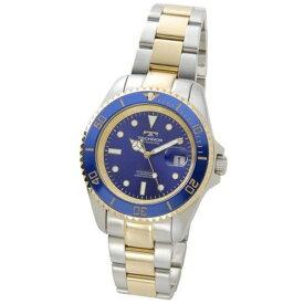 テクノス Technos メンズ腕時計 ダイバーズ TSM402TN ブルー