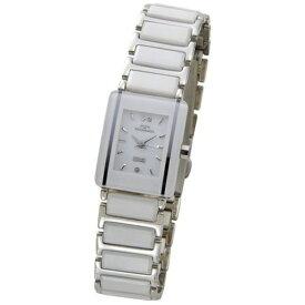 テクノス Technos レディース腕時計 セラミック TSL906TW ホワイト×シルバー