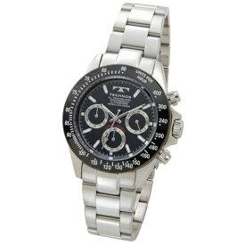 テクノス Technos メンズ腕時計 クロノグラフ TSM401TB ブラック