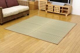 イケヒコ IKEHIKO 国産い草掛川織カーペット『奥丹後』ベージュ