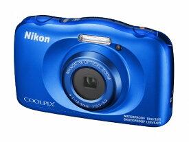ニコン Nikon W150BL コンパクトデジタルカメラ COOLPIX(クールピクス) ブルー [防水+防塵+耐衝撃][W150BL]