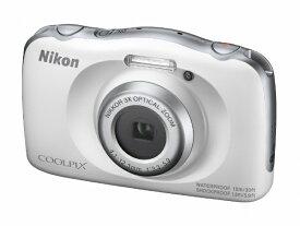 ニコン Nikon W150WH コンパクトデジタルカメラ COOLPIX(クールピクス) ホワイト [防水+防塵+耐衝撃][W150WH]
