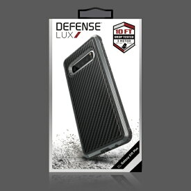 ラスタバナナ RastaBanana Galaxy S10+ Defense Lux Carbon Fiber XGS10PDLUX1 ブラック