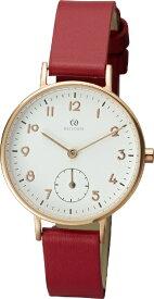 リズム時計 RHYTHM チェンノ(cenno)スタンダード009 9ZR009RH01 9ZR009RH01 レッド
