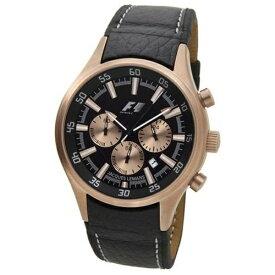 ジャックルマン JACQUES LEMANS メンズ腕時計 F1モデル ブラック PF-5034H [並行輸入品]