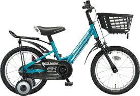 ブリヂストン BRIDGESTONE 14型 子供用自転車 エコキッズ スポーツ(グリーン&ブラック/シングルシフト)EKS14【組立商品につき返品不可】 【代金引換配送不可】