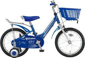 ブリヂストン BRIDGESTONE 16型 子供用自転車 エコキッズ スポーツ(ブルー/シングルシフト)EKS16【組立商品につき返品不可】 【代金引換配送不可】