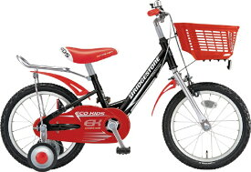 ブリヂストン BRIDGESTONE 18型 子供用自転車 エコキッズ スポーツ(ブラック&レッド/シングルシフト)EKS18【組立商品につき返品不可】 【代金引換配送不可】