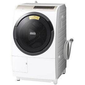 日立 HITACHI BD-SV110EL-W ドラム式洗濯乾燥機 ビッグドラム ホワイト [洗濯11.0kg /乾燥6.0kg /ヒーター乾燥(水冷・除湿タイプ) /左開き][洗濯機 11kg BDSV110EL]