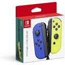 任天堂 Nintendo Joy-Con(L) ブルー/(R) ネオンイエロー[ニンテンドースイッチ コントローラー ジョイコン]