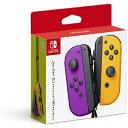 任天堂 Nintendo Joy-Con(L) ネオンパープル/(R) ネオンオレンジ[ニンテンドースイッチ コントローラー ジョイコ…