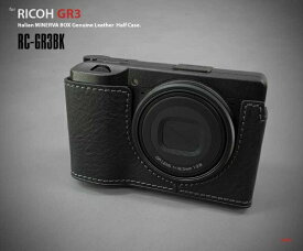 リムズ LIM'S リコー GR III用ケース RC-GR3BK ブラック