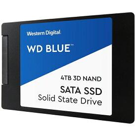 WESTERN DIGITAL ウェスタン デジタル 内蔵SSD WD BLUE 3D NAND SATA SSD WDS400T2B0A